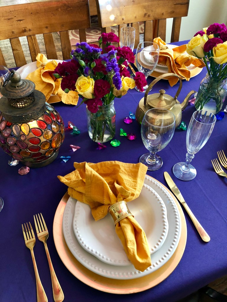 Disney Aladdin Dinner Party Recipes | The Rose Table