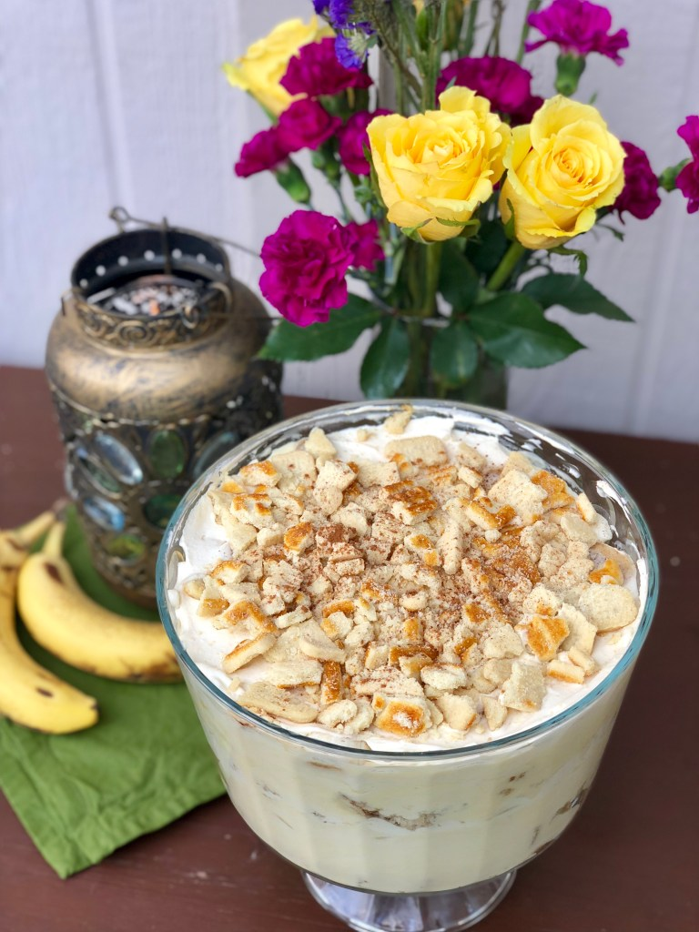 Best Banana Bread Trifle | The Rose Table