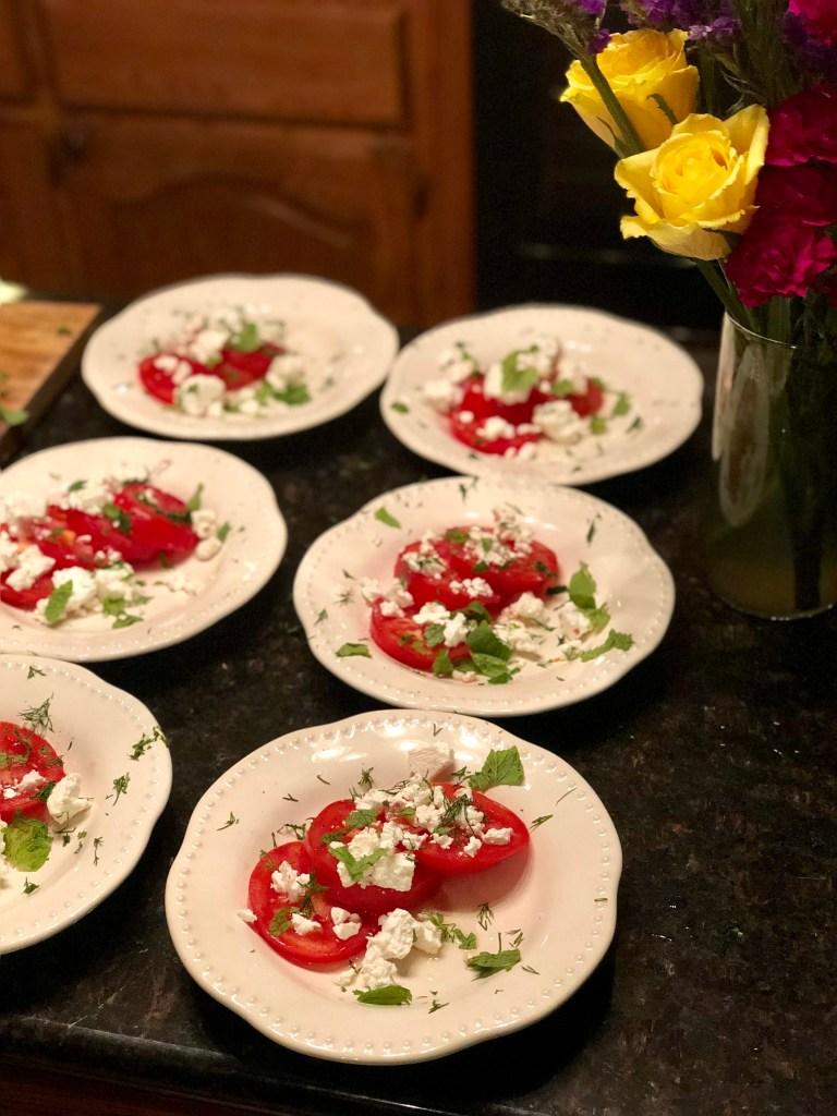 Panir Salad | The Rose Table