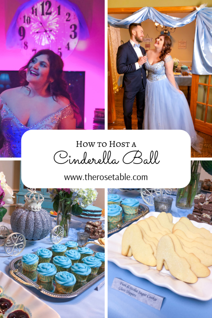 Cinderella Ball, Disney Party Recipes for Adults | The Rose Table