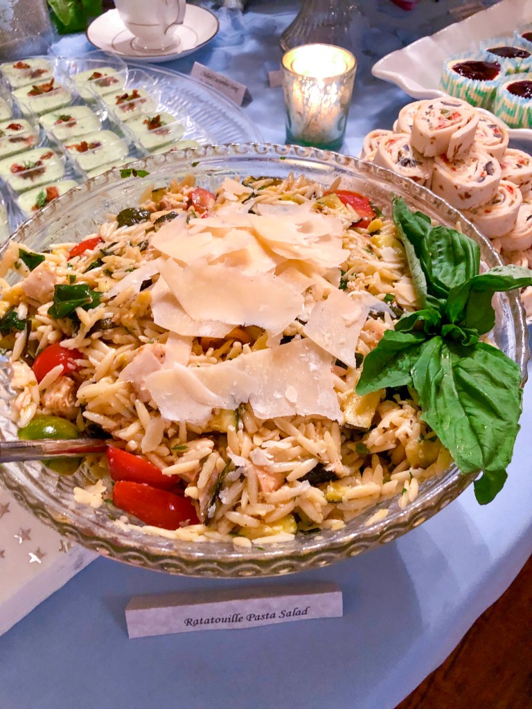 Grilled Ratatouille Pasta Salad | The Rose Table
