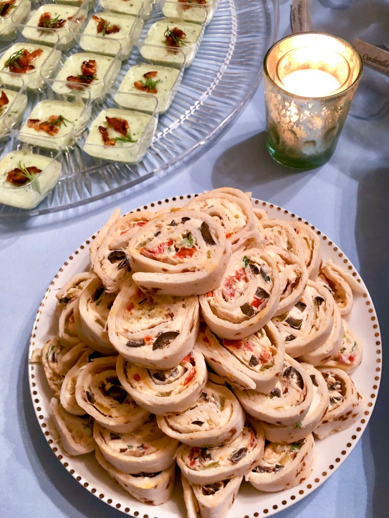 Tortilla Roll Ups, Party Appetizer | The Rose Table