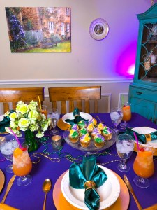 Mardi Gras Party Ideas Recipes   The Rose Table