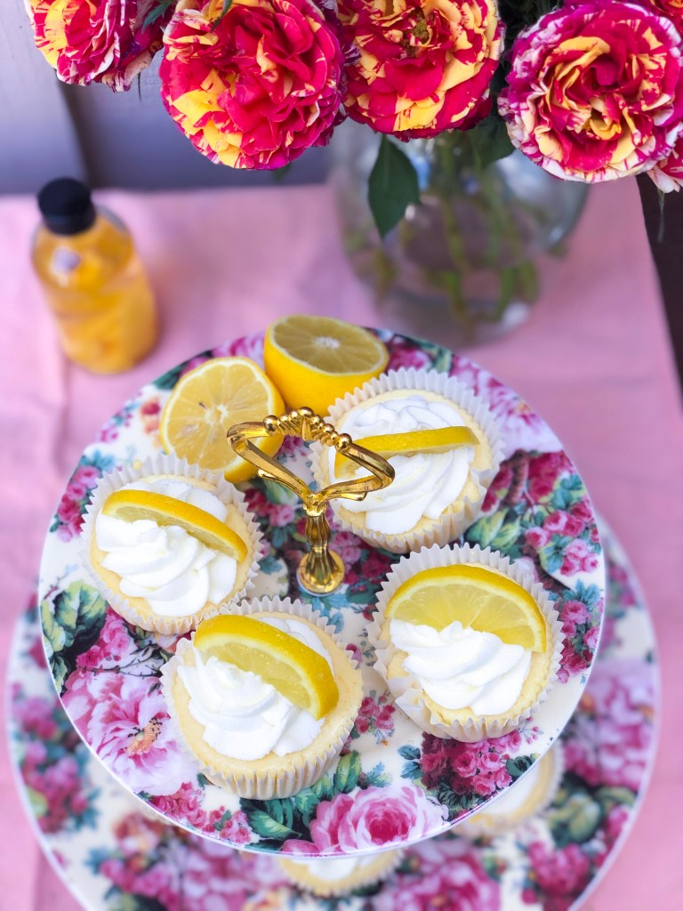 Mini Lemon Cheesecakes | The Rose Table
