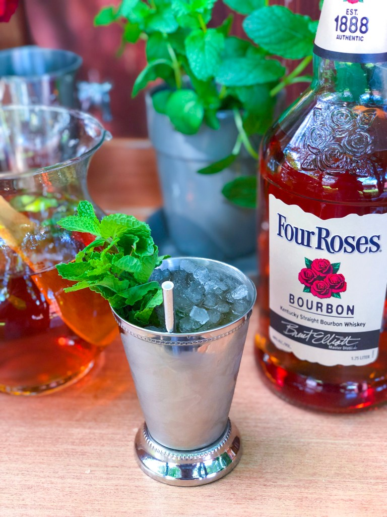 Best Mint Julep Recipe, Mint Simple Syrup, Kentucky Derby Recipe, Mint Julep Pitcher   The Rose Table