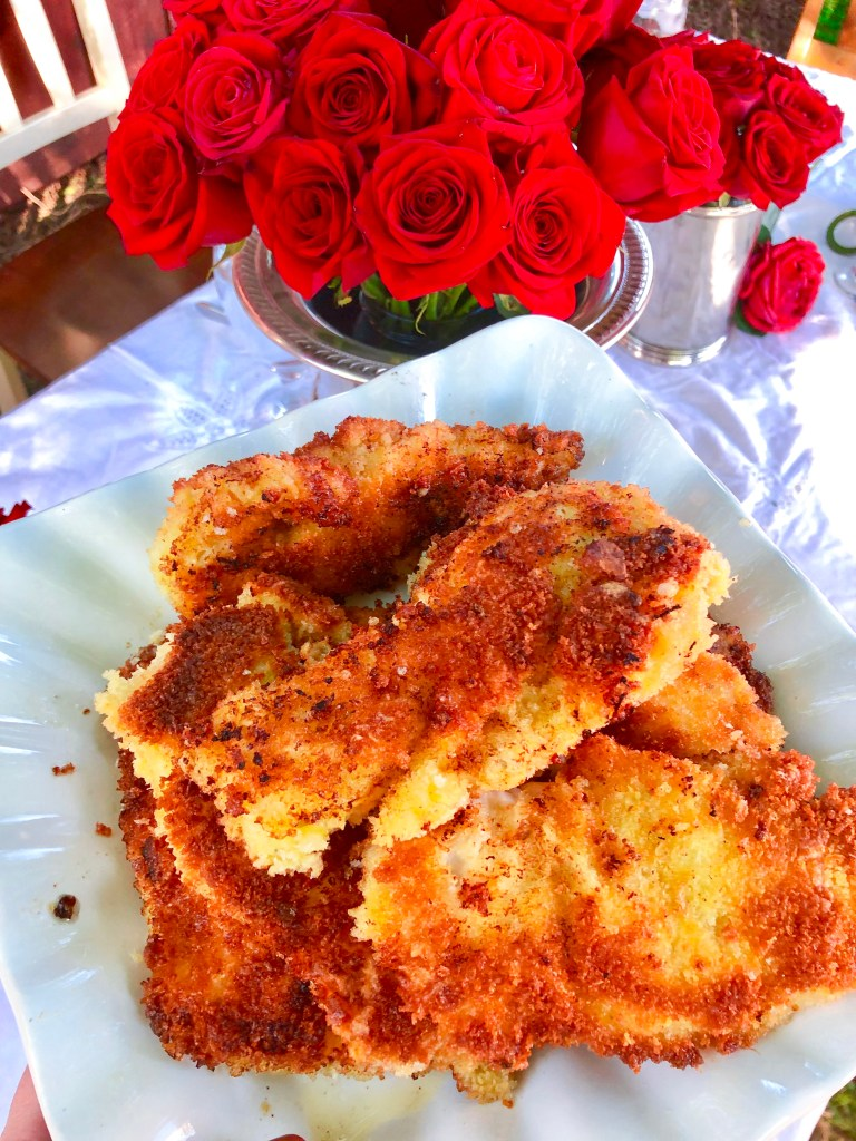 The Best Chicken and Waffles Recipe Homemade Chicken Tenders, Kentucky Derby Party Food Recipes | The Rose Table