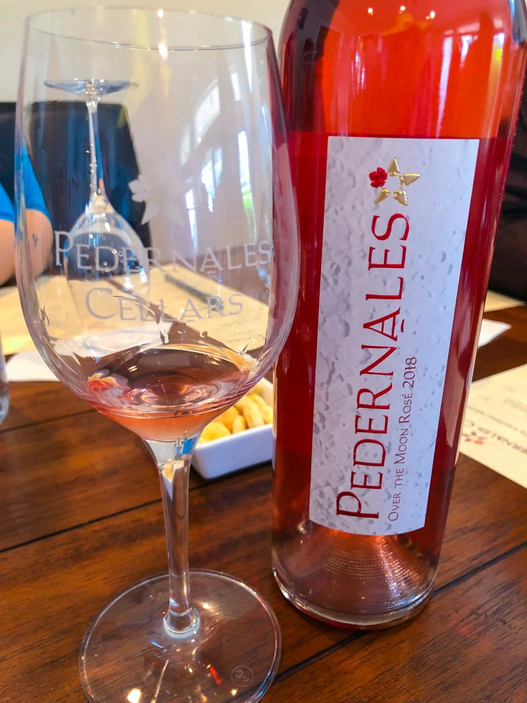Pedernales Cellars Review, Best Vineyards Fredericksburg TX | the Rose Table