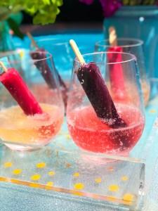 Popsicle Champagne: Easy, No Bake Summer Dessert