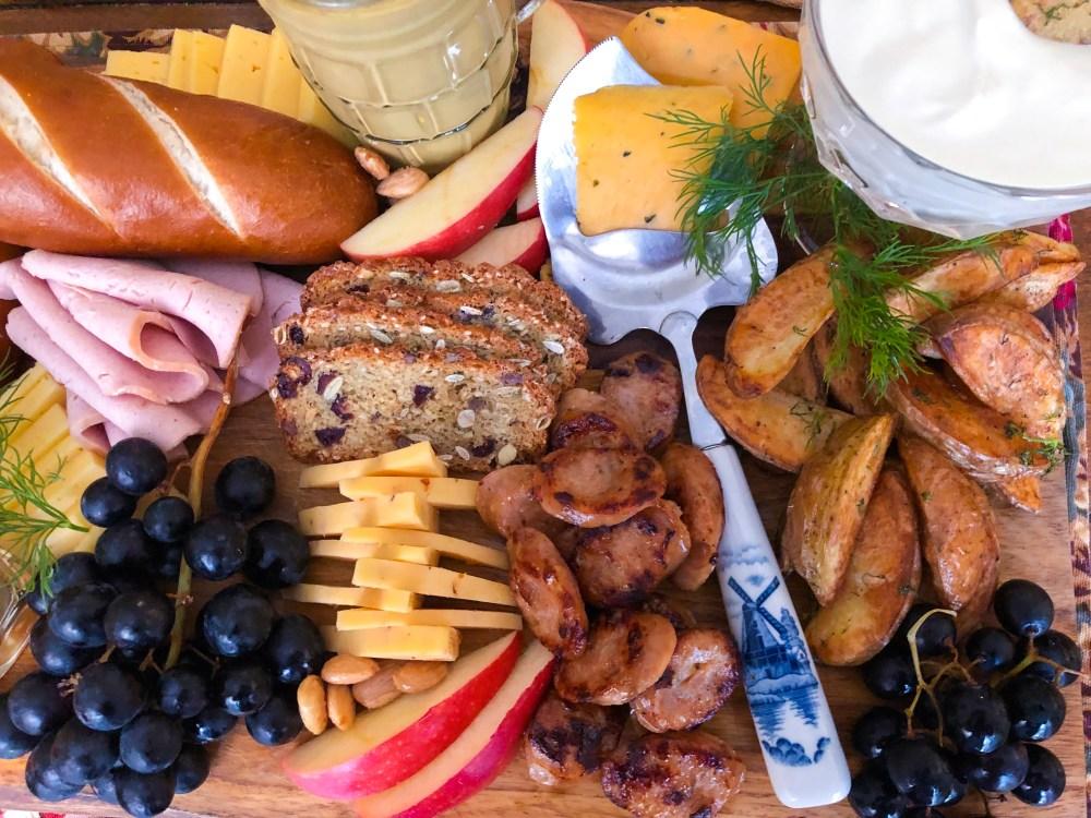 Oktoberfest Board, Oktoberfest German Party Food