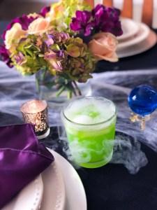 Foolish Mortal, Haunted Mansion Halloween Green Cocktail