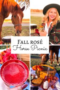 Fall Rose Horse Picnic