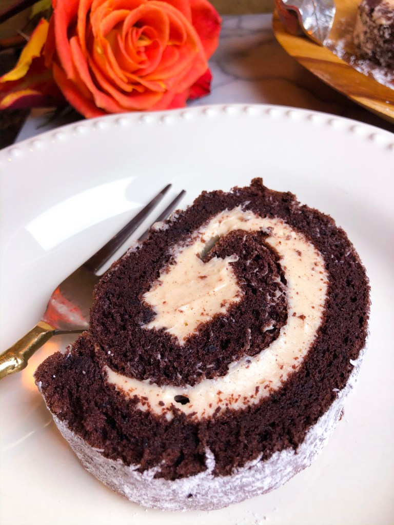 Chocolate Cinnamon Cake Roll