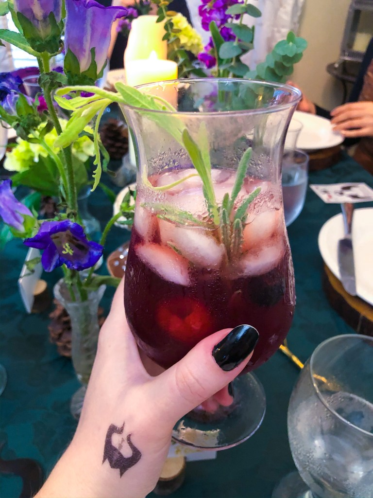 Mixed Berry Iced Tea
