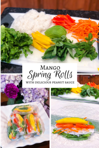 Mango Spring Roll Recipe