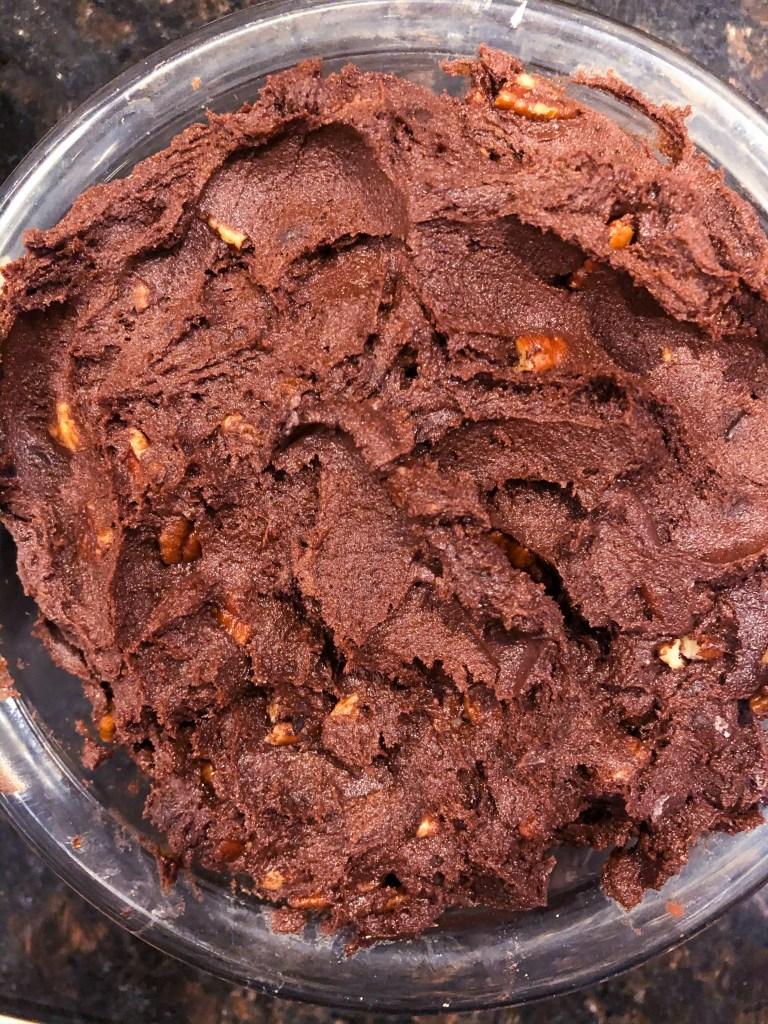 Chocolate Walnut Fudge Cookies