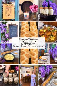 Tangled Disney Princess Party Recipes