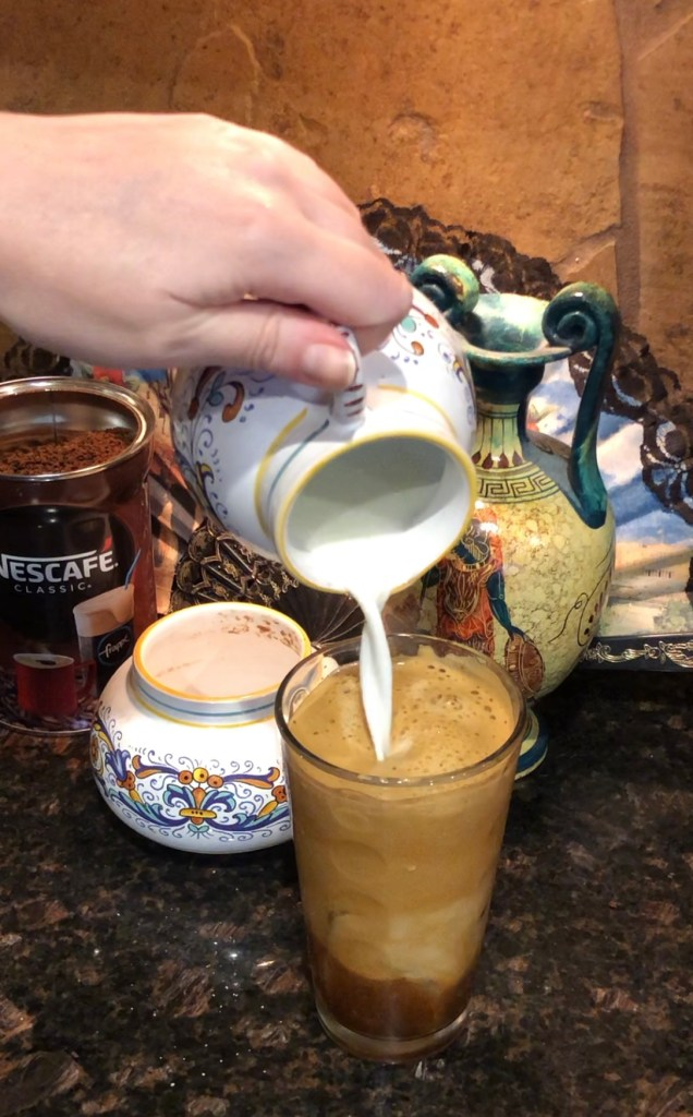 How to make a Greek Frappe Whipped Coffee