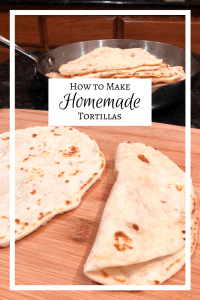 Homemade Tortilla Recipe