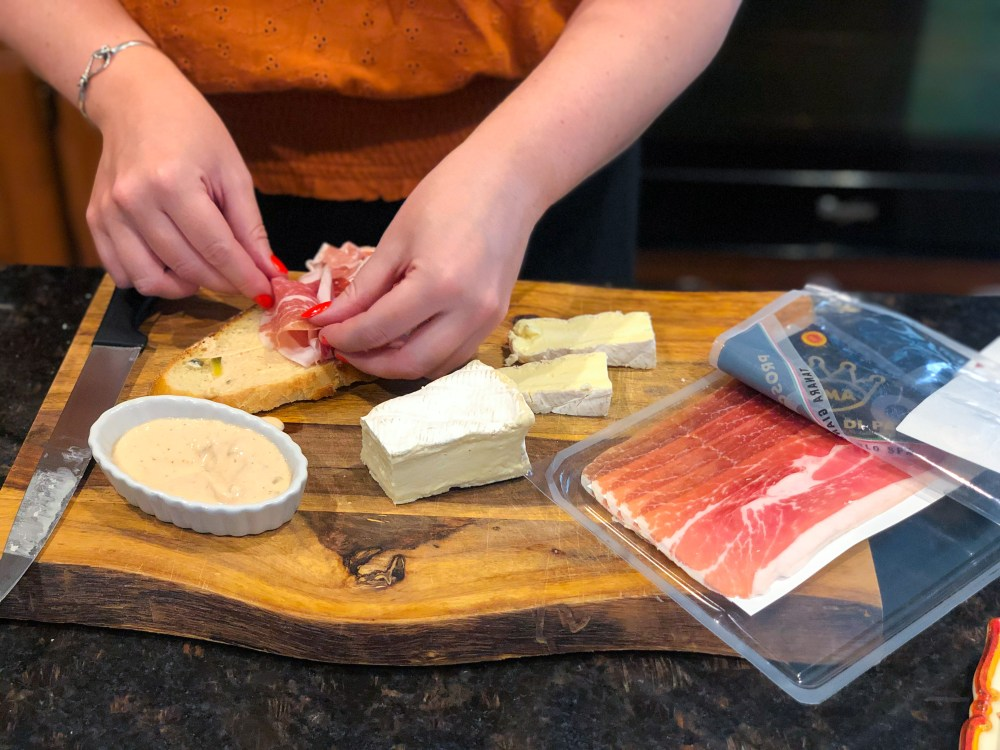 Serendipity-Style Prosciutto Sandwich
