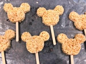 Mickey Mouse Rice Krispy Treats Disneyland Recipe