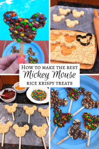 Mickey Mouse Rice Krispy Treats Disneyland Recipe
