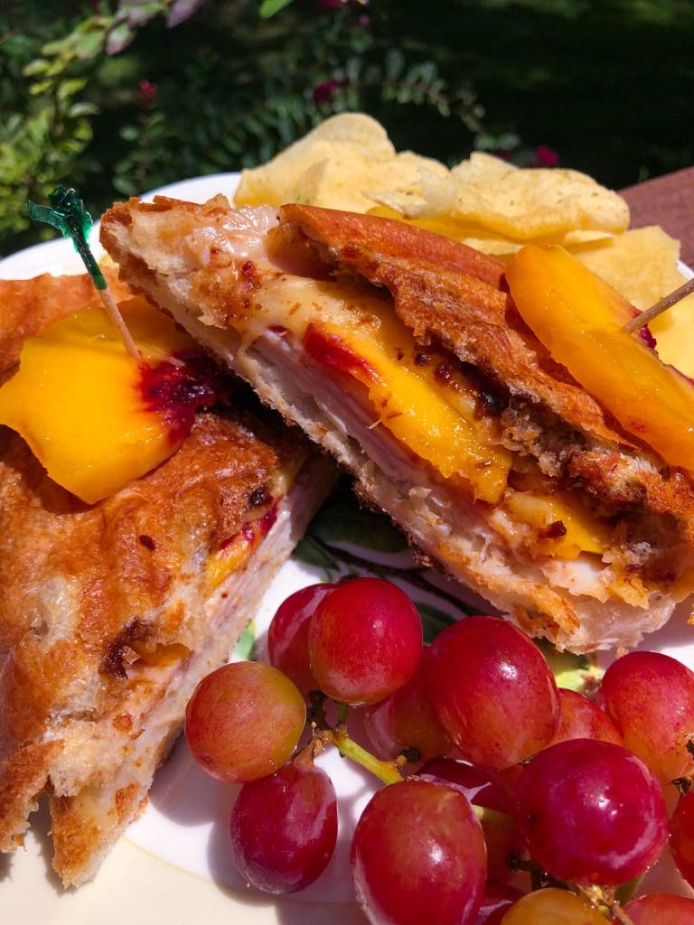 Turkey Peach Panini