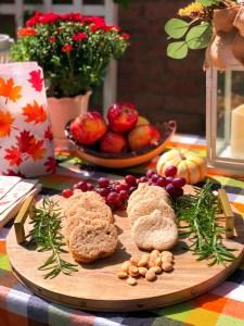 Apple Butter & Pumpkin Butter Sandwiches