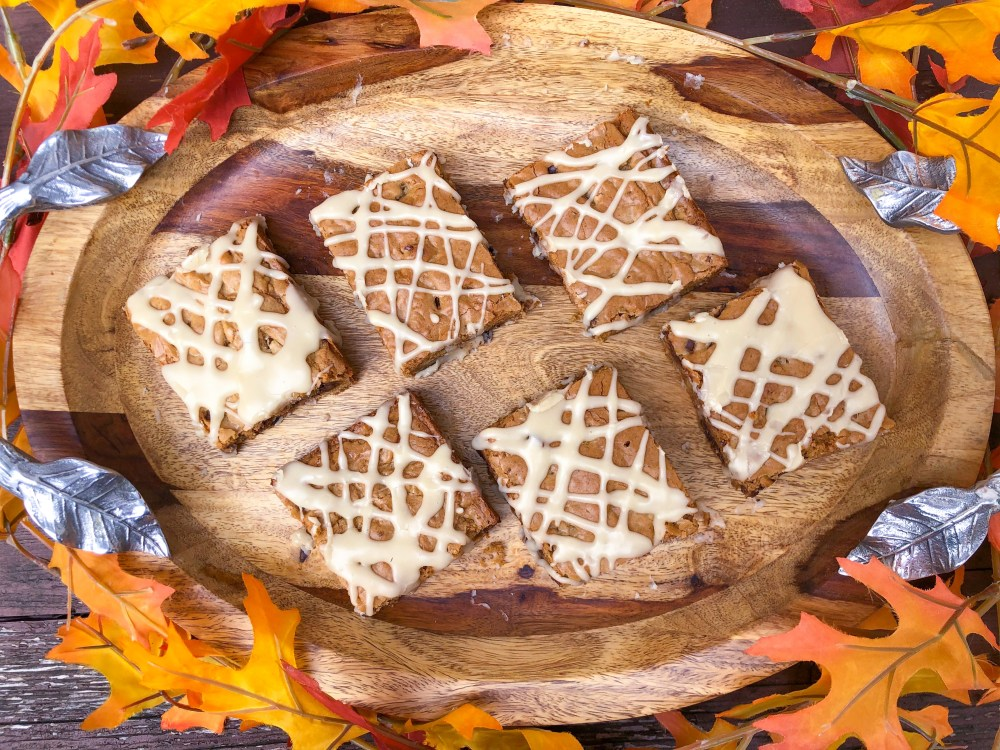 Maple Bar Cookies with Maple Glaze, Fall Cookie Recipe