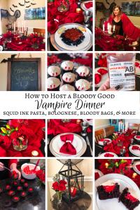 Vampire Dinner Recipes Party Ideas