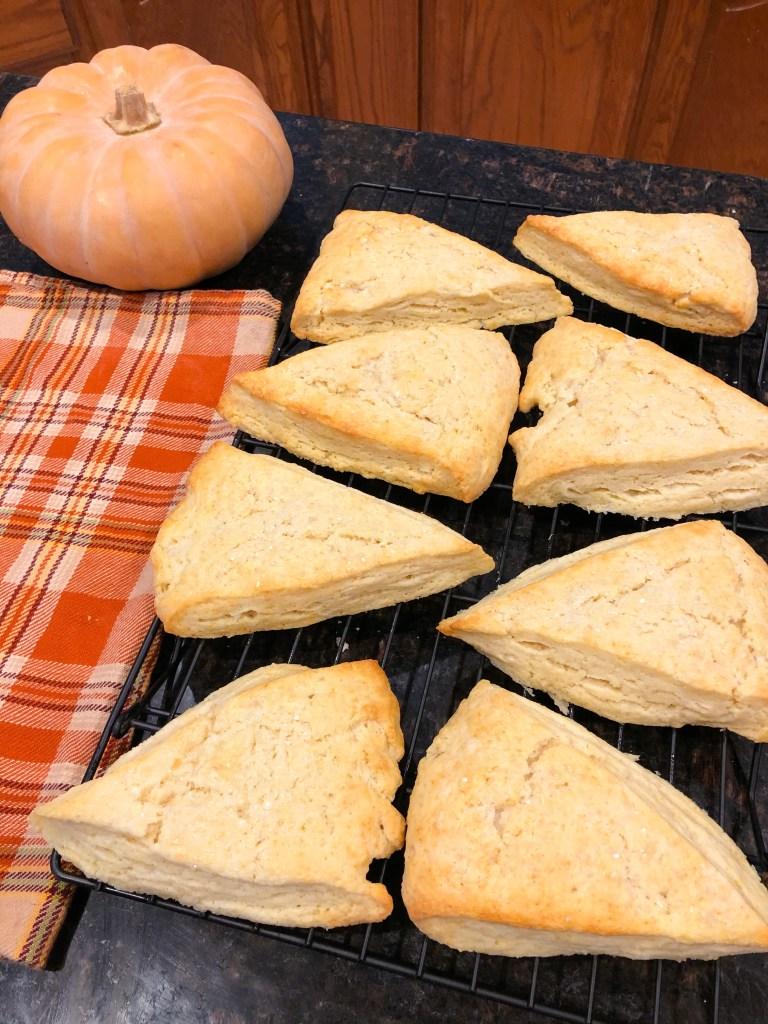 Maple CreamScones