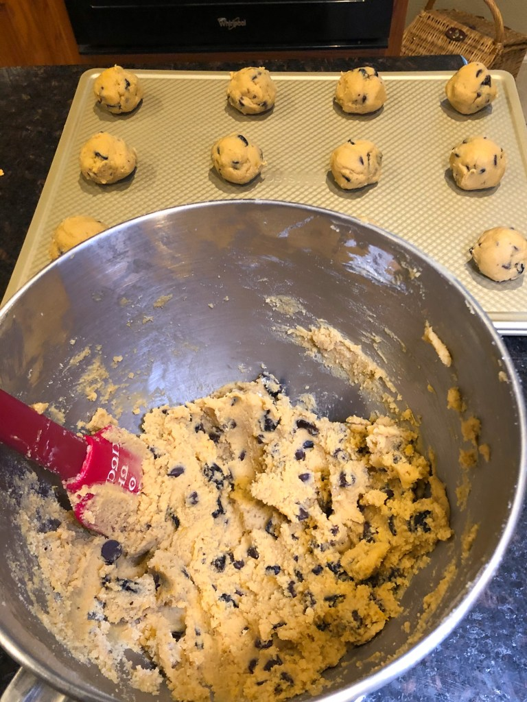 Orange Cherry Chocolate Chip Cookies, Christmas Cookie Recipe