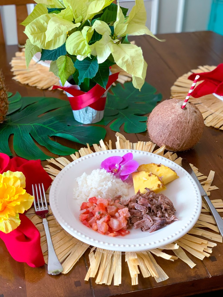 Hawaiian Christmas Luau Party Recipes