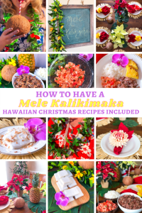 Mele Kalikimaka Hawaiian Christmas Recipes Party