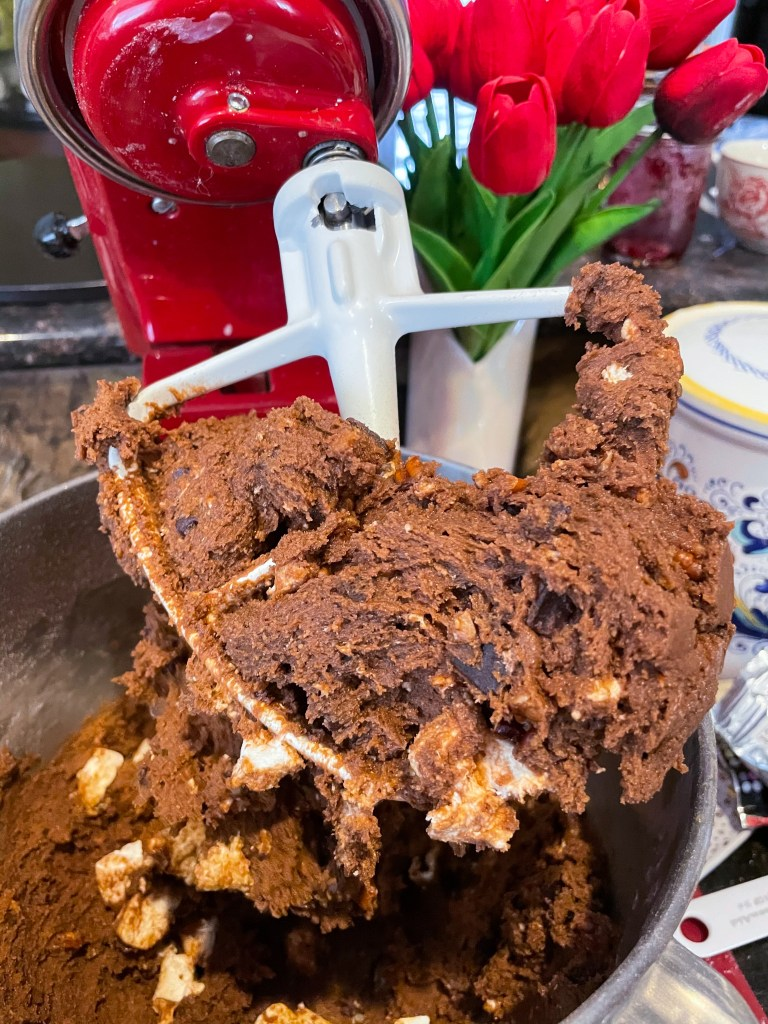 Rocky Road Bar Cookies with Marshmallow