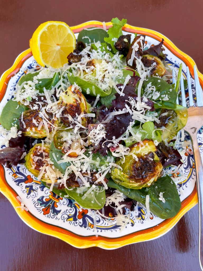 Simple Brussels Sprouts Salad