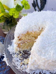 Coconut Vanilla Cake, aka The Good Cake