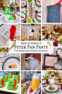 Peter Pan Disney Party Recipes