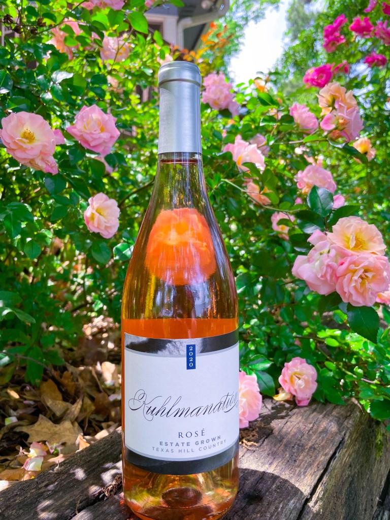 Kuhlman Cellars Estate Rosé | Best Texas Wines