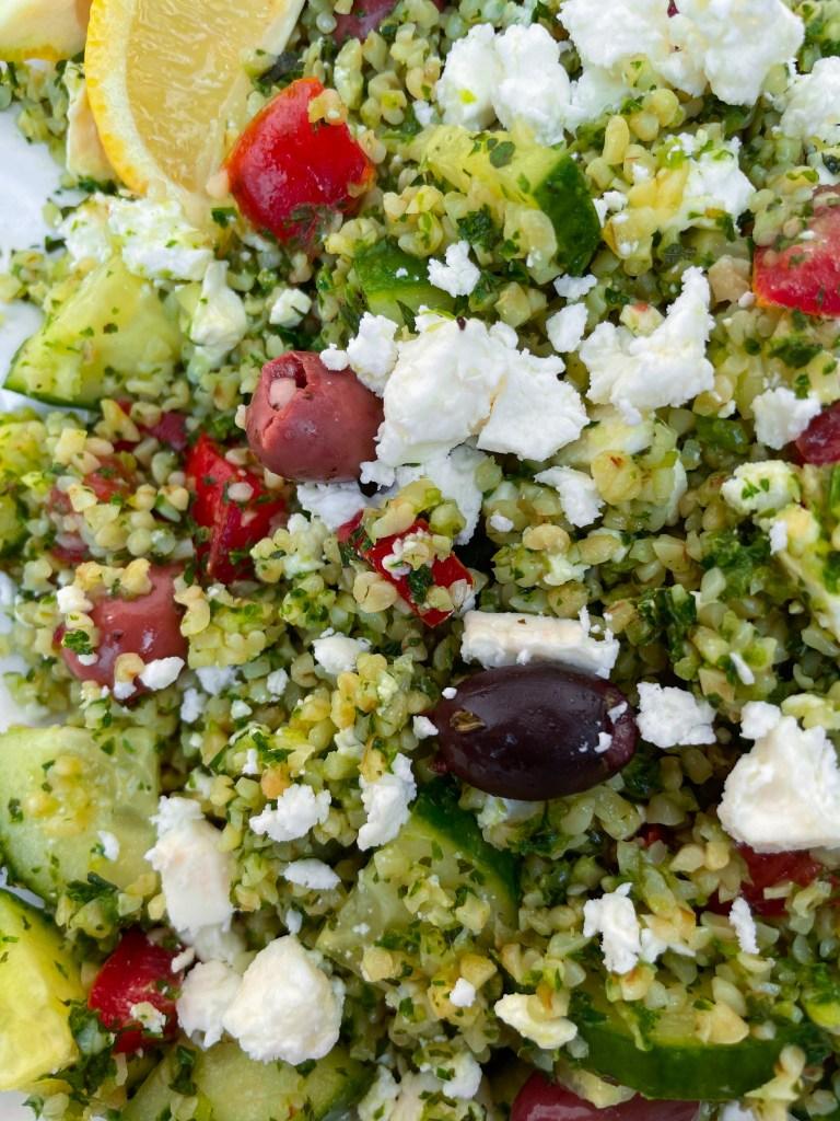 Greek Tabbouleh Salad