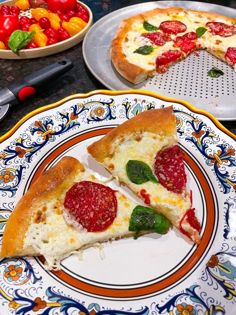 Heirloom Tomato Pizza | Garden Recipes