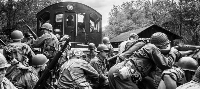 MINI 03: WWII Train Battle