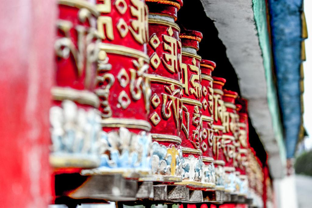 Tibetran Prayer Wheel.