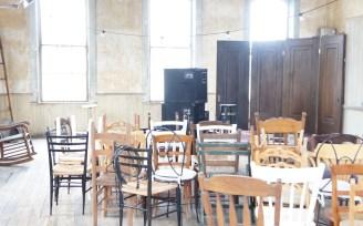 Music Hall chairs