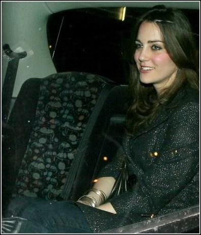 Kate Middleton Leaving Boujis Club London 08022007 The Royal Uk
