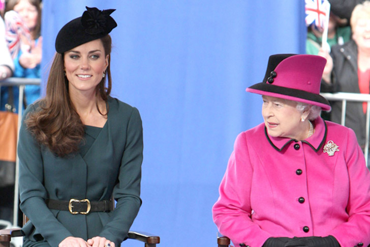 queen and kate middleton relationship