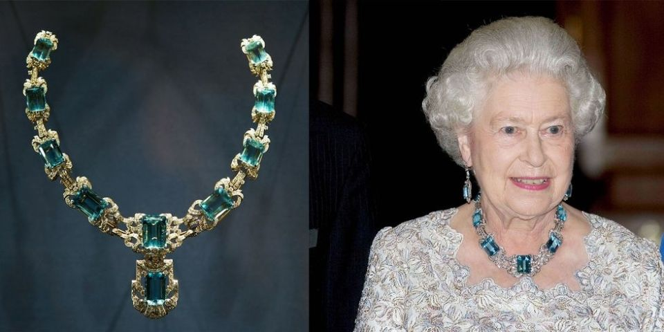 Queen Elizabeth S Most Glamorous Jewels Brooch And Tiaras