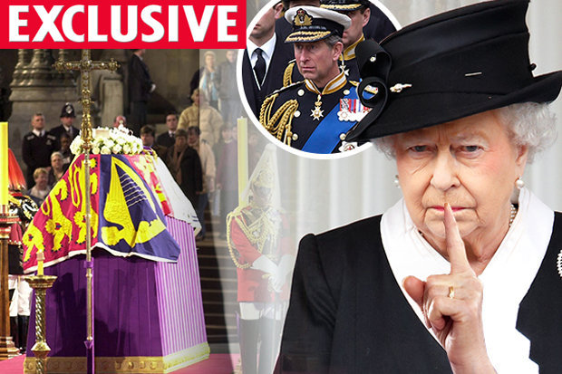 Queen Elizabeth S Hidden Secret Out The Day Of Princess Diana S Funeral
