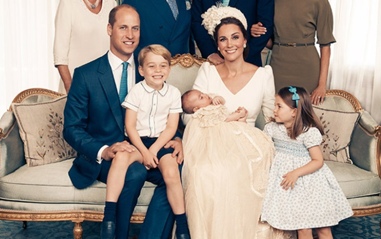 Prince William And Kate Middleton Releases A New Family Picture