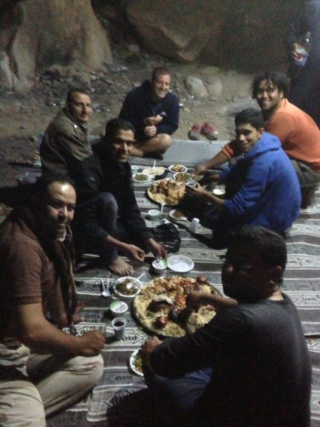 Bedouin Dinner at the Desert