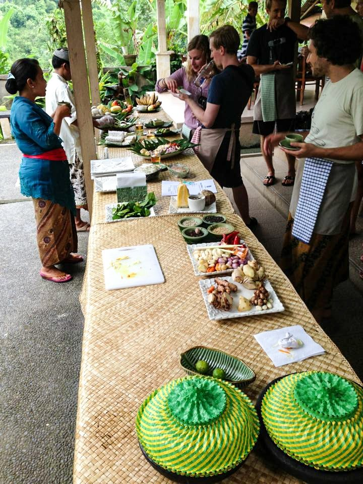 Bali Cooking Class - Our new friends